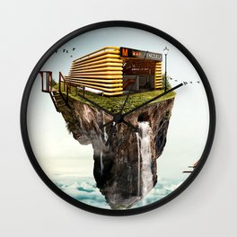 Subway station in the heights Wall Clock