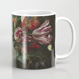 Jan Davidsz de Heem - Vase of Flowers (c.1660) Coffee Mug