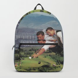 Billiard with Good Friends Backpack