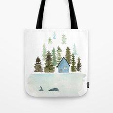 I see a whale! Tote Bag
