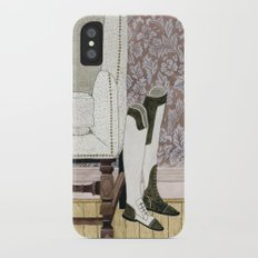 Equestrian Boots iPhone X Slim Case