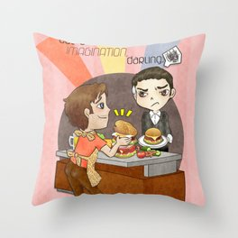 A Little Imagination Throw Pillow