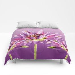 Lotos Flowers violet II Comforters