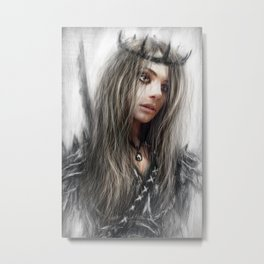 Dark Crown Metal Print