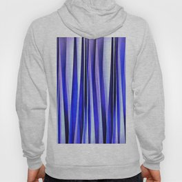 Peace and Harmony Blue Striped Abstract Pattern Hoody