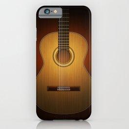 Classic Guitar iPhone Case