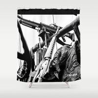 jeep Shower Curtains featuring Photo - Ready by Creativo Inc