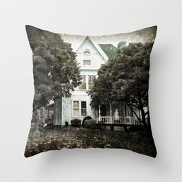 Haunted Hauntings Series - House Number 3 Throw Pillow