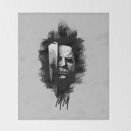 Michael Myers Throw Blanket
