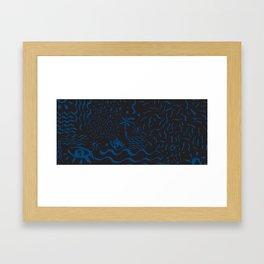 Strange Framed Art Print