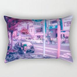 cherry blossom eyes Rectangular Pillow