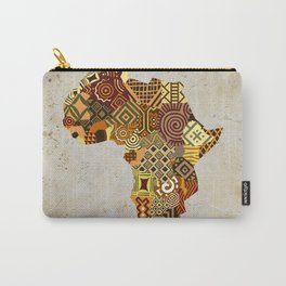 African Map II Carry-All Pouch