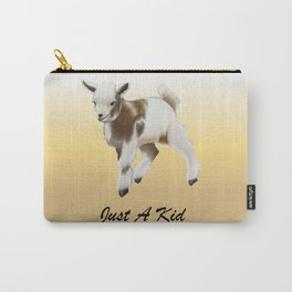 Goat Kid  Carry-All Pouch