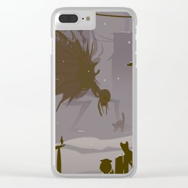 confrontation Clear iPhone Case