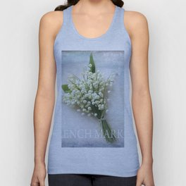 french market Unisex Tank Top