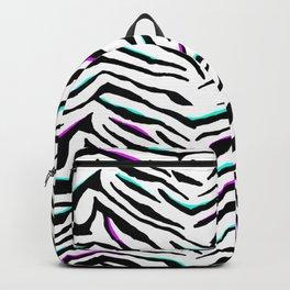 Zazzy Zebra Animal Print Backpack