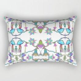 Fairy Celebration - White Rectangular Pillow