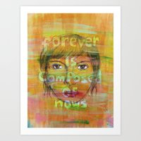 paper towns Art Prints featuring MrS paper towns by Anique
