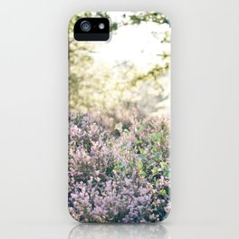 morning heather iPhone Case
