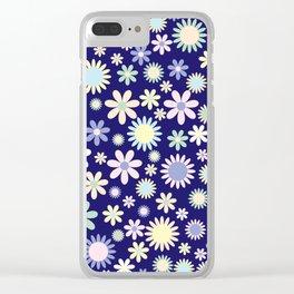 Floral Arrangement Clear iPhone Case