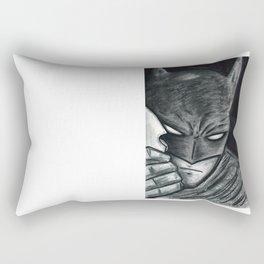 The Cape Crusader Rectangular Pillow