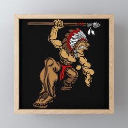 Native American Framed Mini Art Print