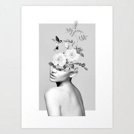 Floral beauty 2 Art Print
