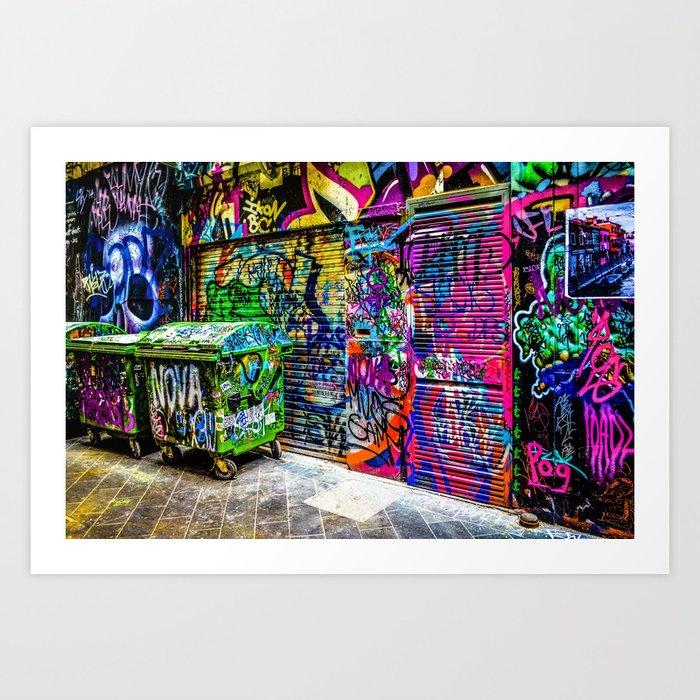 Street art Art Print