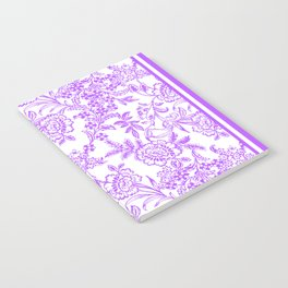 Radiant Orchid Tea Reversed Notebook