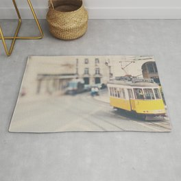 city trams ...  Rug