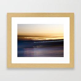Sunset Sweep Framed Art Print