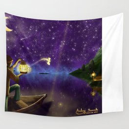 Releasing the Fairy Wall Tapestry