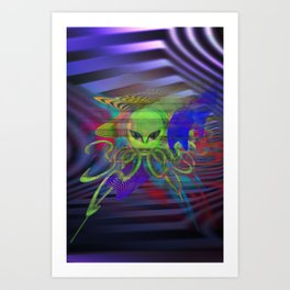 Octophibian Art Print