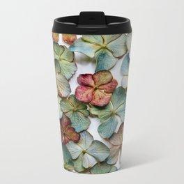 Hydrangea Petals no. 1 Metal Travel Mug