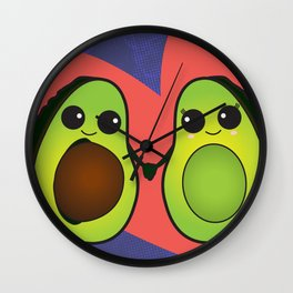 My Other Half Wall Clock