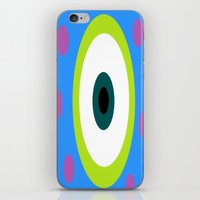 monsters inc iPhone & iPod Skins featuring Monsters Inc. by amalchristine