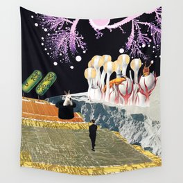 Teleport Wall Tapestry