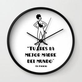 Súper mamá Wall Clock