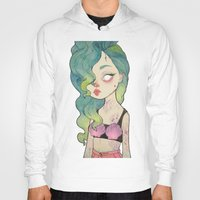 loll3 Hoodies featuring sea queen by lOll3