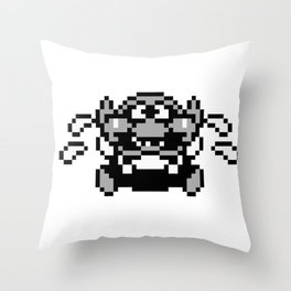 Wario 4 Throw Pillow