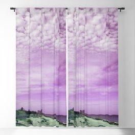 Abstruse Visions In Florida August 24th FL Purple Beach  Blackout Curtain