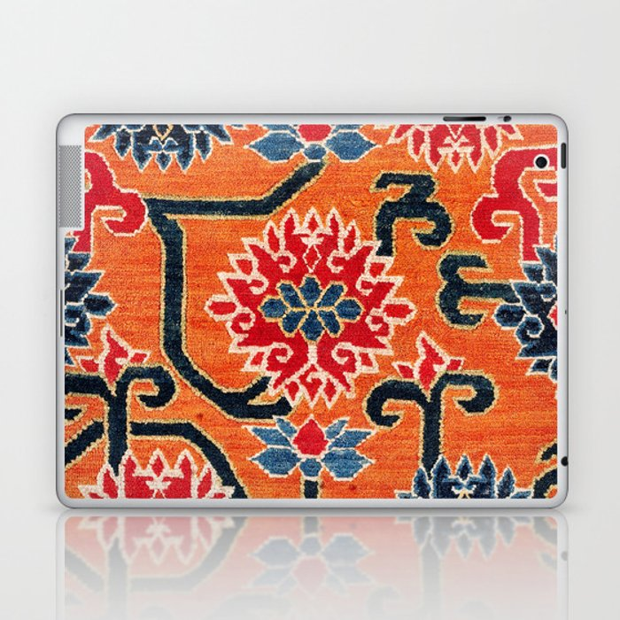 Shigatse South Tibetan Jabuye Rug Print Laptop & iPad Skin