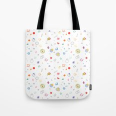 space pattern Tote Bag