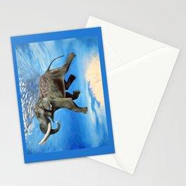 Rajan The Swimming Elephant Stationery Cards