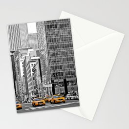 NYC - Yellow Cabs - Police Car Stationery Cards