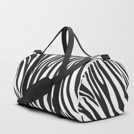 Zebra trendy design artwork animal exotic pattern Duffle Bag
