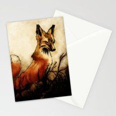 Fox Stationery Cards