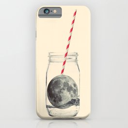 Moon cocktail iPhone Case