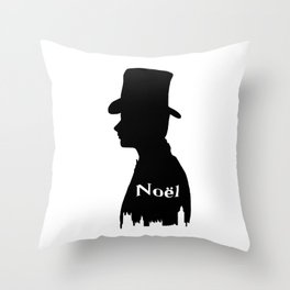 Chris Colfer as Noel Coward Throw Pillow