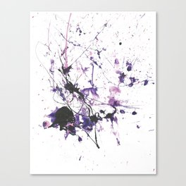 Violet Fire Canvas Print